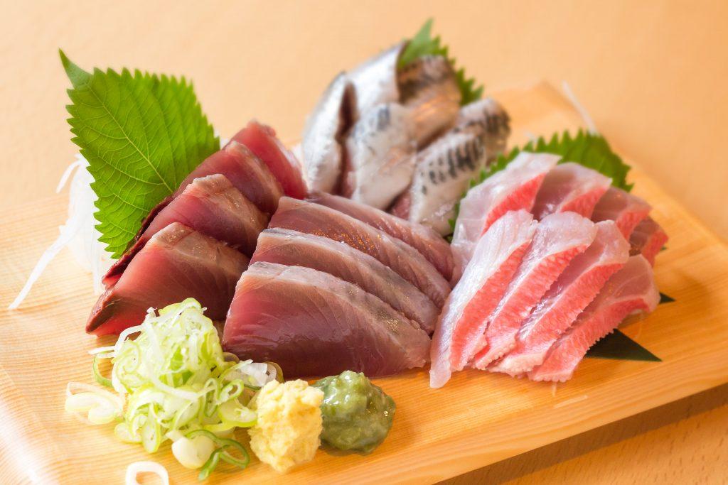 鮮魚一式盛り合わせ